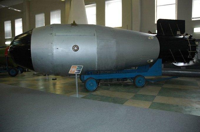«Царь-бомба» в Музее ядерного оружия (фото: Croquant). Изображение № 1.