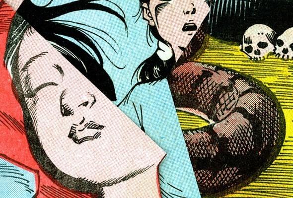 Зловещие и мрачные ретро-иллюстрации, переделанные из детских комиксов. Изображение № 6.