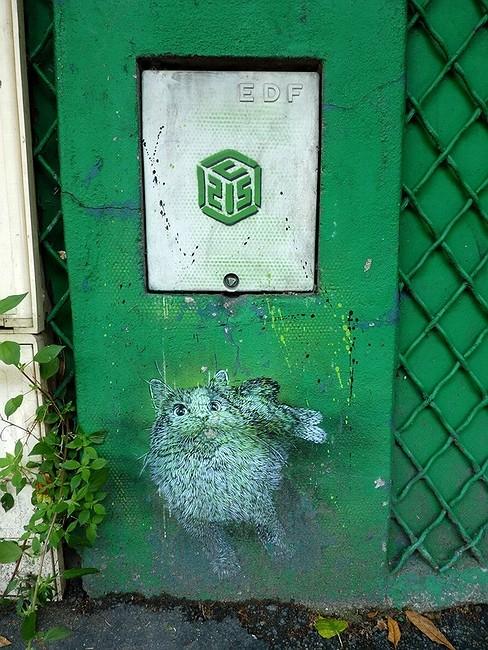 Стрит-арт в Париже. Изображение № 20.