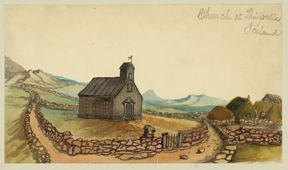 Исландия в середине XIX века: путевые рисунки американского дипломата. Изображение № 11.