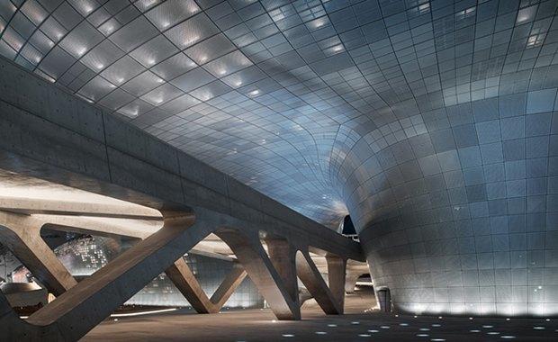 Заха Хадид открыла культурный центр в Сеуле. Изображение № 2.