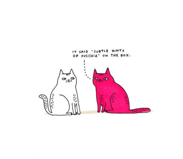 Gemma Correll и её коты. Изображение № 10.