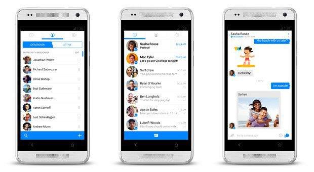 Facebook ищет тестеров для нового Messenger. Изображение № 1.