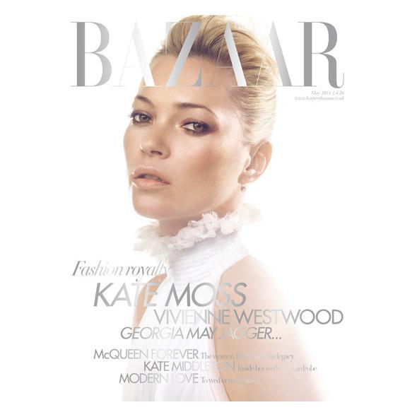 Изображение 4. Обложки: Elle, Harper's Bazaar и L'Officiel.. Изображение № 2.
