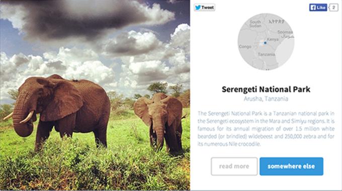Сервис Somewhere выбирает самые красивые места в Instagram. Изображение № 3.