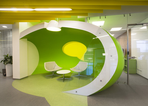 Появились фотографии нового офиса «Яндекса» в Санкт-Петербурге. Изображение № 9.