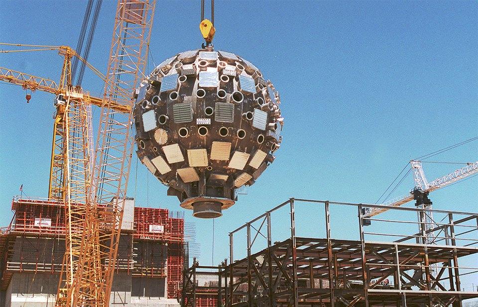 Как выглядит комплекс с самыми мощными лазерами в мире. Изображение № 3.