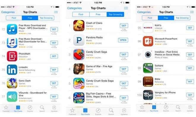 В App Store изменят кнопки загрузки бесплатных приложений . Изображение № 1.