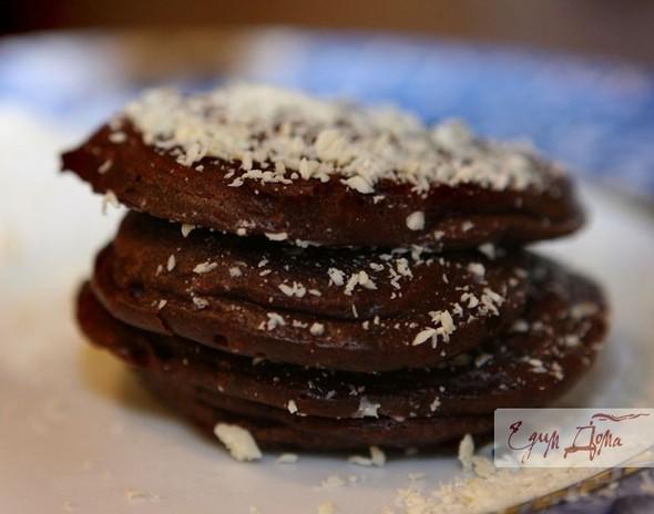 Шоколадные оладушки. Изображение № 1.