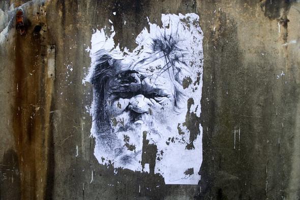 Стрит-арт от французкой команды Murmure - Artisme. Изображение № 13.