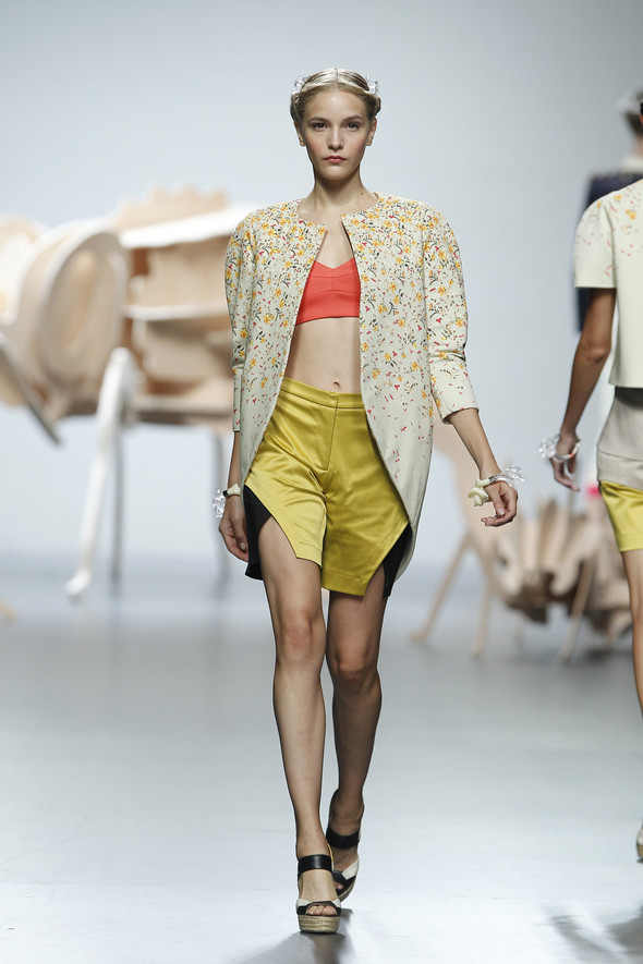 Madrid Fashion Week SS 2012: Ana Locking. Изображение № 5.