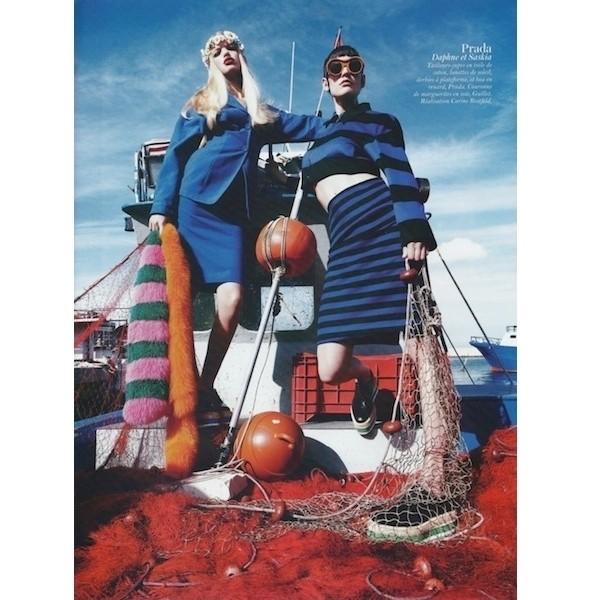 Изображение 61. Съемки: Harper's Bazaar, Industrie, Vogue и другие.. Изображение № 108.