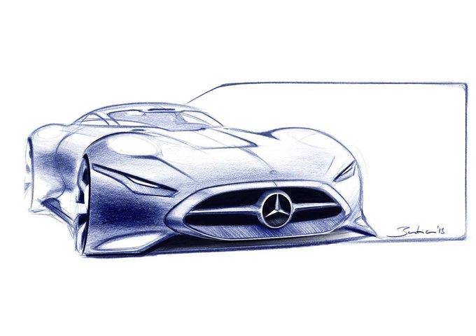 Mercedes-Benz разработала концепт спорткара для новой части Gran Turismo. Изображение № 20.