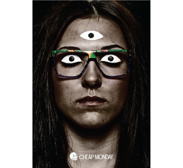 Изображение 3. Glasses news: новая коллекция Cheap Monday и Агата Сноу для Mykita.. Изображение № 2.