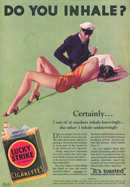 Винтажная реклама табака. Изображение № 20.