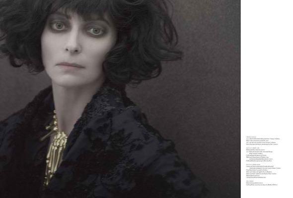 Фэшн-видео с Тильдой Суинтон и еще 10 модных съемок актрисы. Изображение № 39.