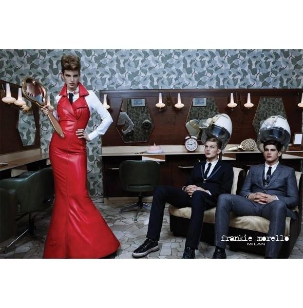 Изображение 1. Превью мужских кампаний: Givenchy, Frankie Morello и Marc O'Polo.. Изображение № 3.