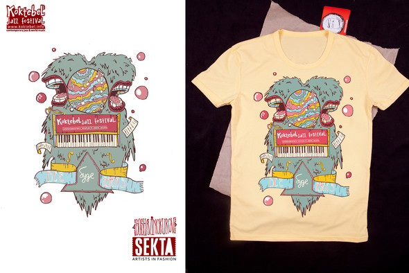 Koktebel Jazz Fest Tees by SEKTA. Изображение № 5.