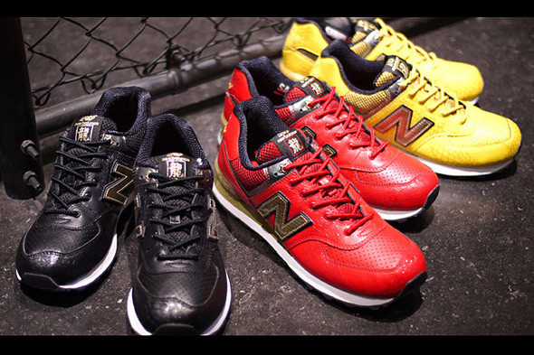 NEW BALANCE 574 YEAR OF THE DRAGON. Изображение № 5.