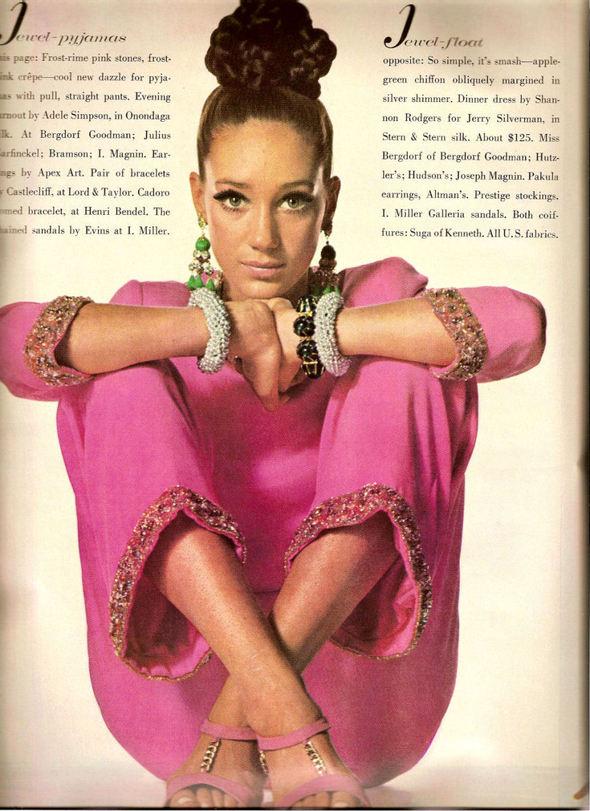 «Выгляди великолепно» каквVogue 1967 года. Изображение № 3.