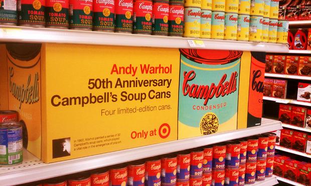 Campbell's выпустил лимитированную серию супов в честь Энди Уорхола. Изображение № 4.