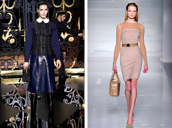 Louis Vuitton FW 2011 / Max Mara FW 2011 . Изображение № 77.