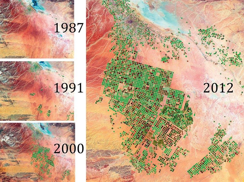 Снимки из космоса: Как люди осваивают и разрушают планету. Изображение № 7.