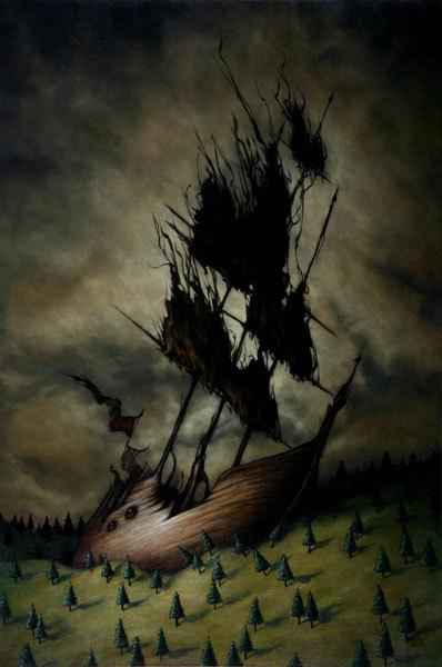 Страшное икрасивое вкартинах Andrew Esao. Изображение № 19.