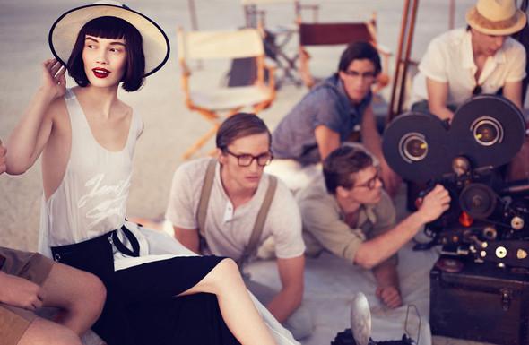 Съёмки: Elle, i-D и Vogue. Изображение № 29.