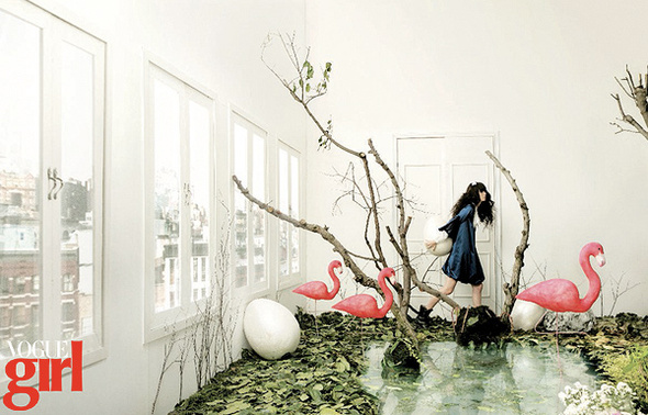 Волшебный мирVOGUE GIRL Korea 2008. Изображение № 2.
