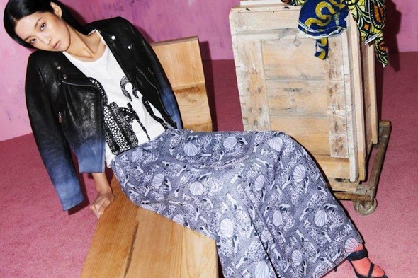Модный дайджест: Джеймс Франко для Gucci, сари Hermes, сингл Burberry. Изображение № 22.