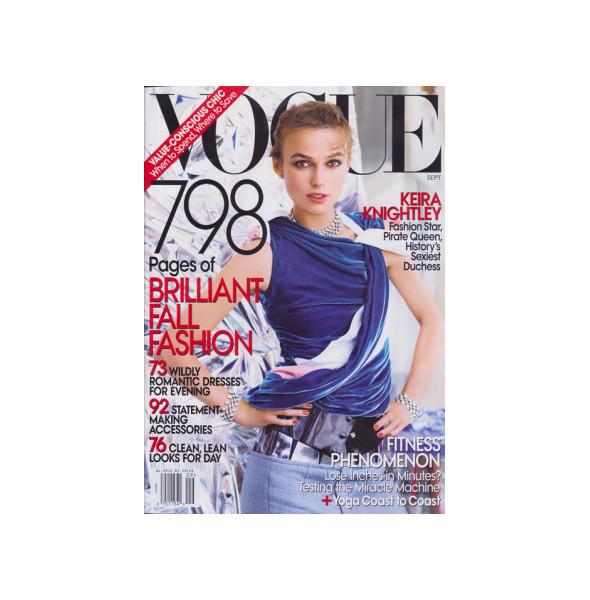 Сентябрьский номер Vogue: все толще. Изображение № 5.