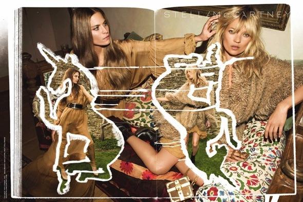 Fashion Advertisements, Выпуск 11 лучшие фотографии изрекламных кампаний модных брендов 2008. Изображение № 20.