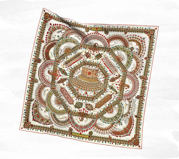 Классические шарфы Hermes. Изображение № 6.