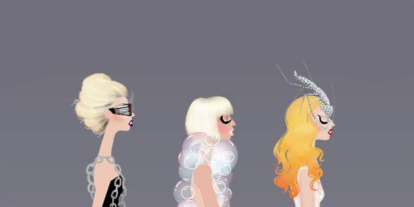Иллюстрации образов Lady Gaga от Adrian Valencia. Изображение № 12.
