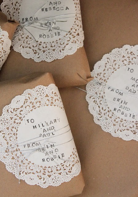55 идей для упаковки новогодних подарков. Изображение №42.