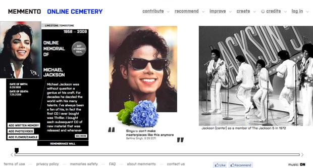 В интернете открылось свое кладбище. Изображение №2.