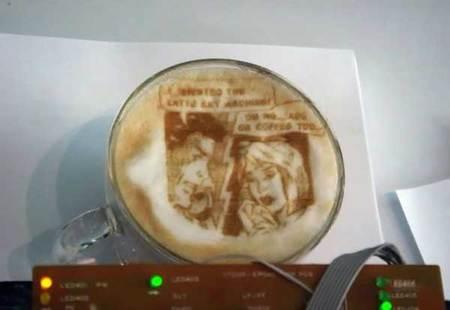 Принтер длякофе. Изображение № 10.