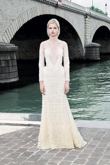 Изображение 7. Показана новая кутюрная коллекция Givenchy.. Изображение № 11.
