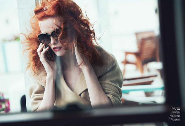 Съёмка: Карен Элсон для Vogue. Изображение № 5.