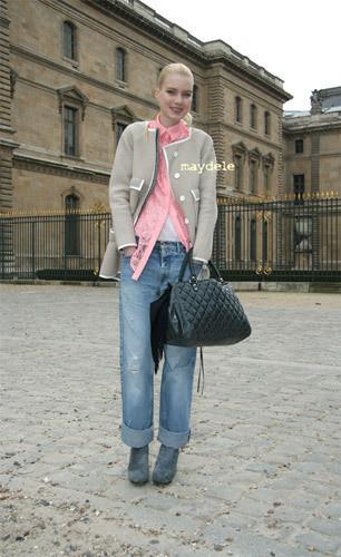 Нерабочее время: Блоги об уличном стиле моделей. Изображение № 32.
