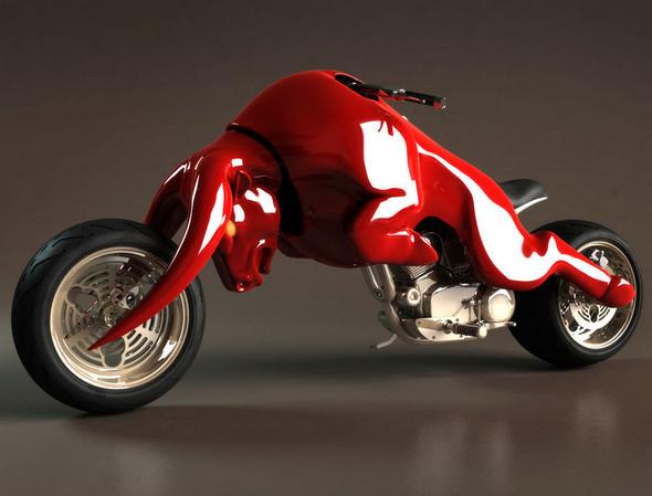 Концепты мотоциклов от Massow Design. Изображение № 1.