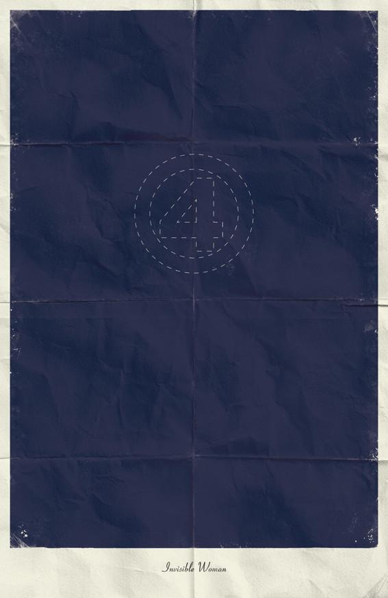Минималистичные постеры для Marvel Comics. Изображение № 11.