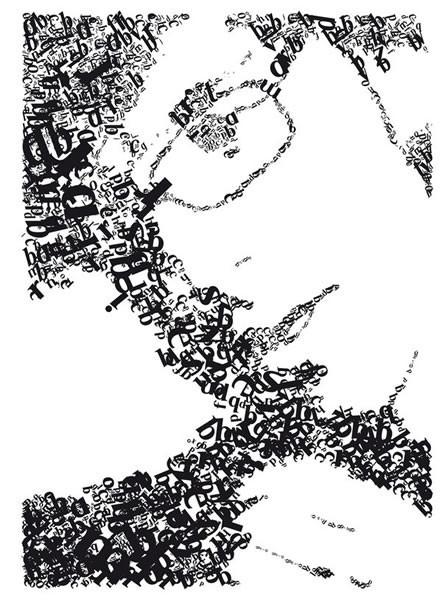 Портреты в типографике. Изображение № 24.