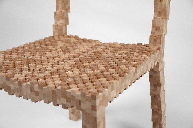 Глитч-мебель: красивые компьютерные ошибки в интерьере. Изображение № 20.