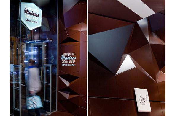 Изображение 5. Каким может быть интерьер магазина шоколада.. Изображение № 5.