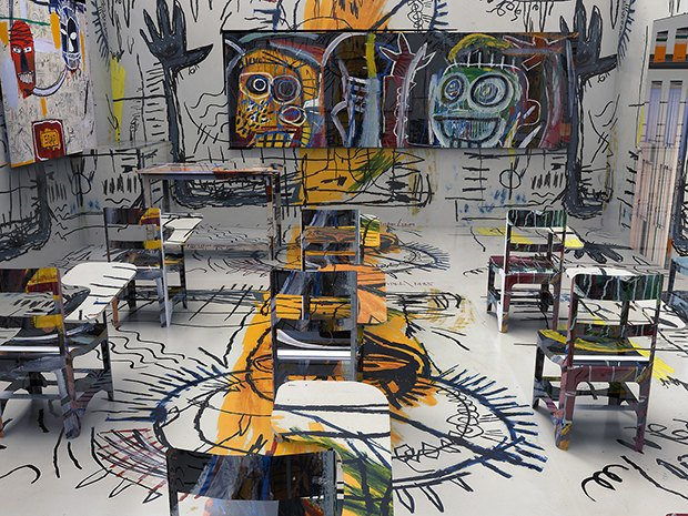 Basquiat Classroom, 2013. Изображение № 1.