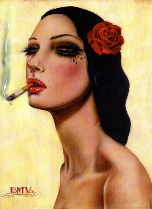 Brian M. Viveros - Американский художник. Изображение № 6.