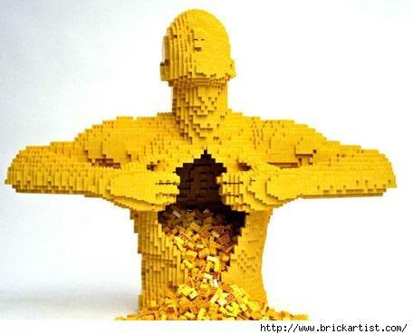 Трехмерный макет Японии и еще 10 удивительных объектов из LEGO. Изображение № 11.