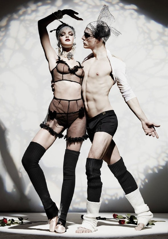Лукбук: John Galliano Underwear FW 2011. Изображение № 9.